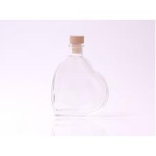 200ml Heart Bottle