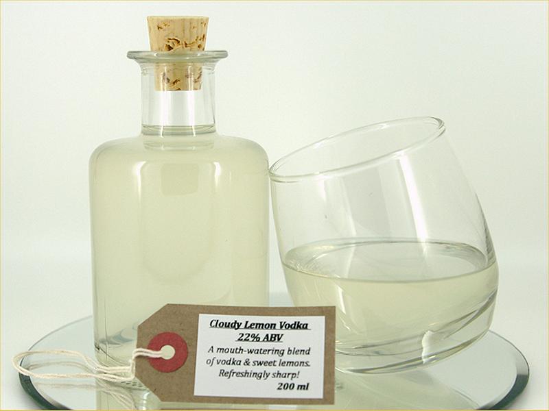 Cloudy Lemon Vodka